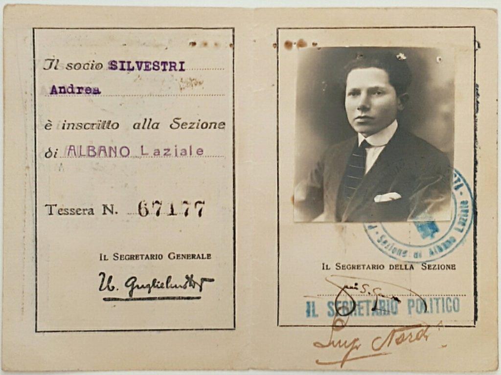 Tessera Associazione Nazionalista Italiana 1923