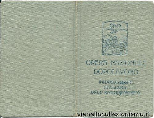 Opera Nazionale Dopolavoro Escursionisti 1928