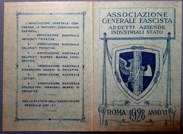 associazione Generale Fascista